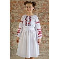 """Вишита сукня для дівчинки """"Кокетка"""" (9903)"""
