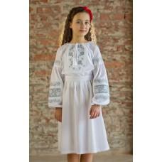 """Вишита сукня для дівчинки """"Кокетка"""" (9905)"""