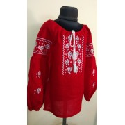 """Вишита блузка для дівчинки """"Кокетка"""" (9930)"""