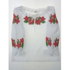 """Вишита блузка для маленької дівчинки """"Фіалка"""" (9943)"""