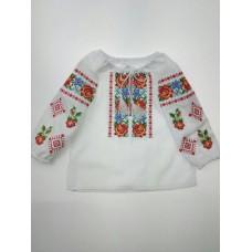 """Вишита блузка для дівчинки """"Ружа"""" (9953)"""