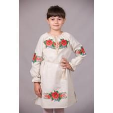 """Вишита сукня для дівчинки """"Ожинка"""" (9984)"""