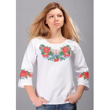 """Жіноча вишита сорочка """"Ожина"""" (5589)"""
